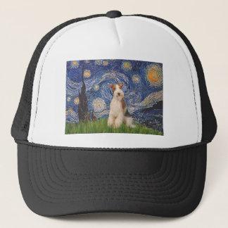 Sternenklare Nacht - Draht-Foxterrier 3 Truckerkappe