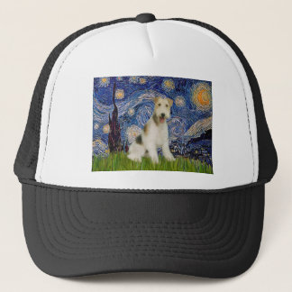 Sternenklare Nacht - Draht-Foxterrier (M) Truckerkappe
