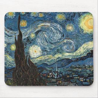 Sternenklare Nacht durch Vincent van Gogh Mauspad