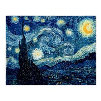 Sternenklare Nacht durch Vincent van Gogh Postkarte