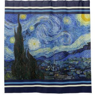 Sternenklare Nacht Duschvorhang