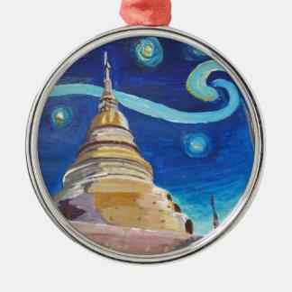 Sternenklare Nacht in Thailand- - Van- Silbernes Ornament