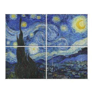 Sternenklare Nacht Van Gogh Galerie Faltleinwand