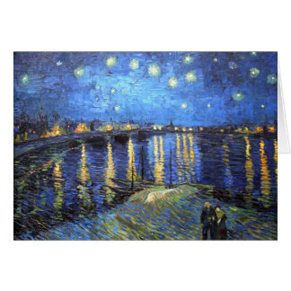 Sternenklare Nacht: Van Gogh Karte