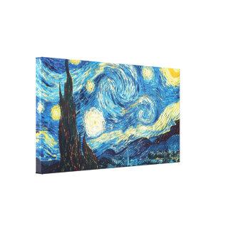 Sternenklare Nacht - Vincent van Gogh Leinwanddruck