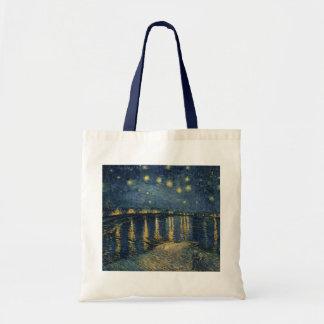 Sternenklare Nacht Vincent van Goghs | über der Tragetasche