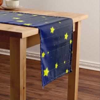 Sternenklare Nachttabellen-Läufer Kurzer Tischläufer