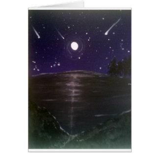 Sternschnuppen Karte