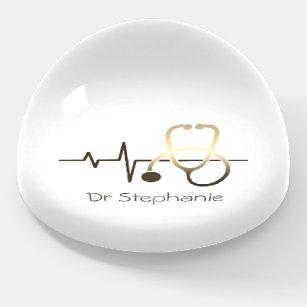Stethoscope Heartbeat Medical Briefbeschwerer