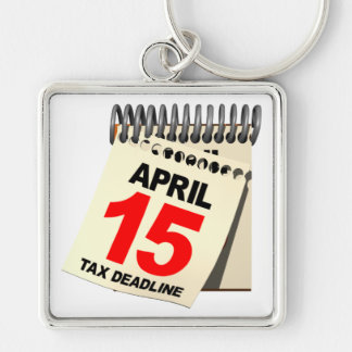 Steuer-Frist Schlüsselanhänger