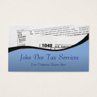 Steuer-Vorbereiter-bundesstaatliche Visitenkarte