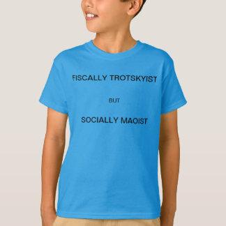 Steuerlich Trotskyist aber sozial maoistisch T-Shirt