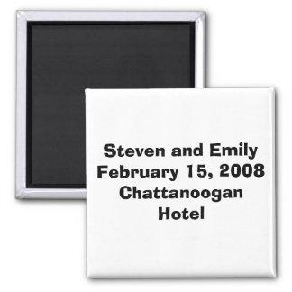 Steven et EmilyFebruary 15, 2008Chattanoogan H… Magnet Carré