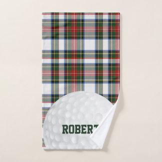 Stewart-Kleidertartan-kariertes Golf-Tuch Handtuch