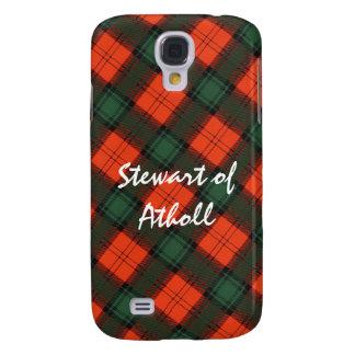 """""""Stewart von Atholl"""" schottischer KiltTartan Galaxy S4 Hülle"""