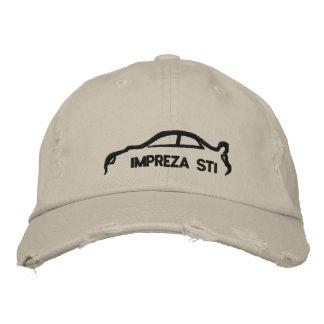 STI de Subaru Impreza Chapeaux Brodés