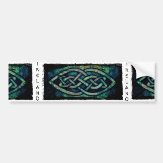 Sticker, Aufkleber, Irland, keltischer Knoten Autoaufkleber