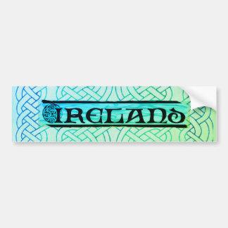 Sticker, Aufkleber, Irland, keltischer Knoten, Autoaufkleber