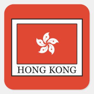 Sticker Carré Hong Kong