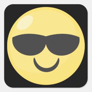 Lunettes SoleilZazzle Autocollantsamp; ch Emoji De Stickers DIEHeYW29