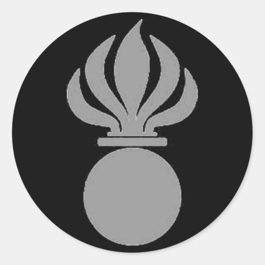 Sticker Panzergrenadier Bombe (grau)