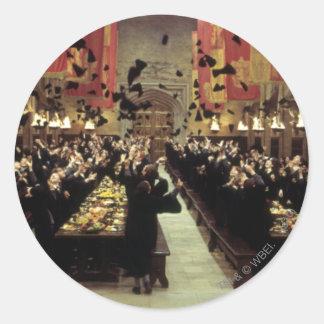 Sticker Rond Château | de Harry Potter le grand hall