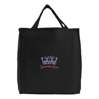 Stickerei-Königin Bestickte Einkaufstasche