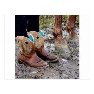 Stiefel und Hoofs Postkarte
