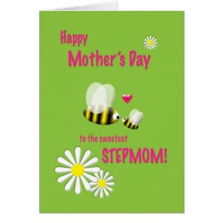 Stiefmutter-beschäftigte Bienen der Mutter Tages Karte