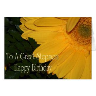 Stiefmutter-Geburtstags-Karte Karte