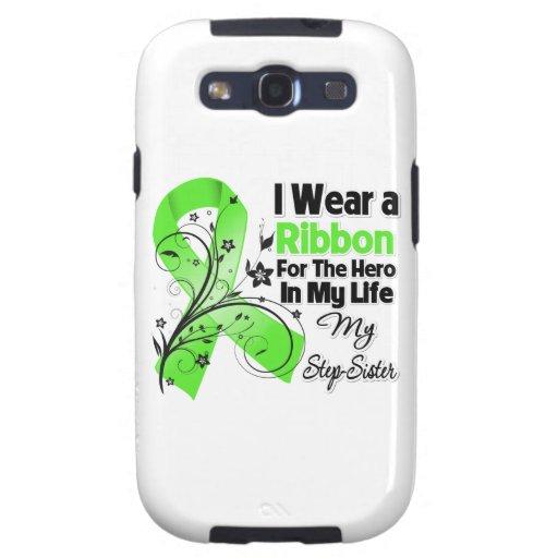 Stiefschwester-Held in meinem Leben-Lymphom-Band Etui Fürs Galaxy S3
