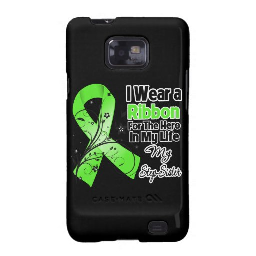Stiefschwester-Held in meinem Leben-Lymphom-Band Samsung Galaxy S2 Hülle