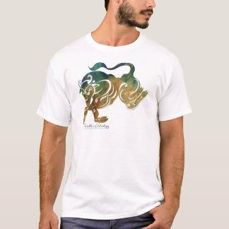 Stier-Astrologie-Kleid T-Shirt