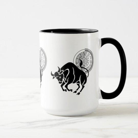 Stier-Schatten Tasse