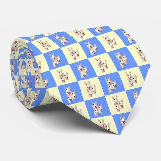 Stier-Terrier-Krawatte Personalisierte Krawatten