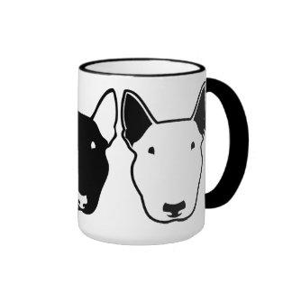 Stier-Terrier-Tasse Ringer Tasse
