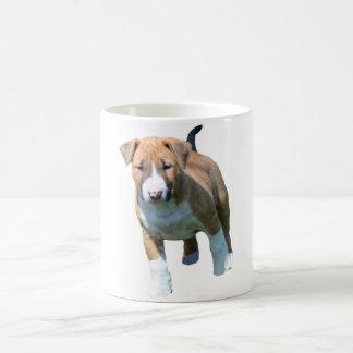 Stier-Terrier-Welpen-Kaffee-Tasse Kaffeetasse