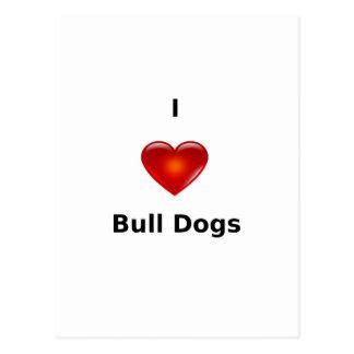 Stierhunde der Liebe I Postkarte
