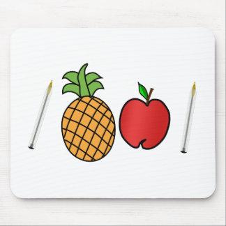 Stiftananas-Apfelstift Mousepads