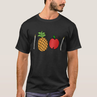 Stiftananas-Apfelstift T-Shirt