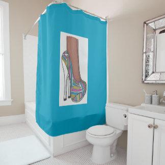 Stilett Duschvorhang