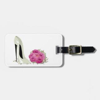 Stilett-Schuh-Kunst-Gepäckanhänger Kofferanhänger