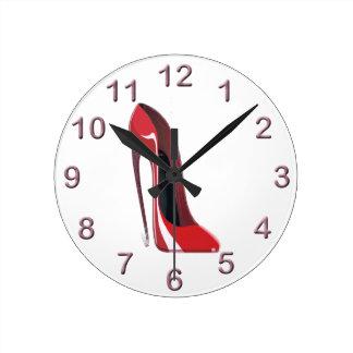 Stilett-Schuh-Kunst-Uhren Uhren