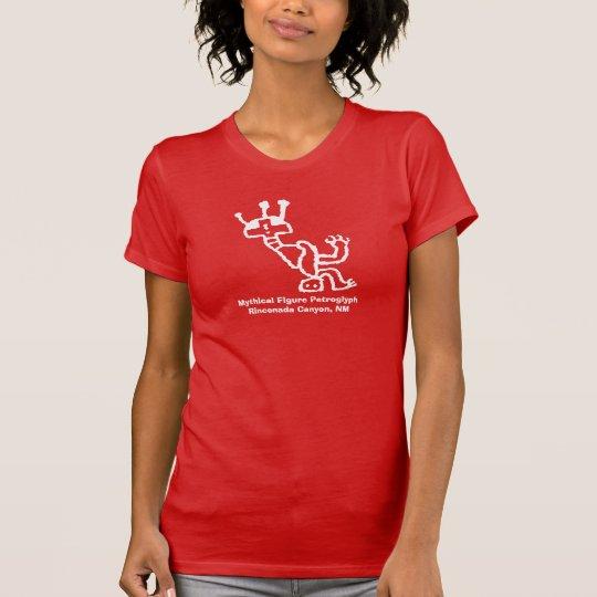 Stilisierte mythische Zahl T-Shirt