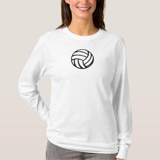 Stilisierter Volleyball T-Shirt
