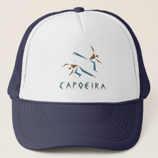 Stilisiertes Capoeira Truckerkappe