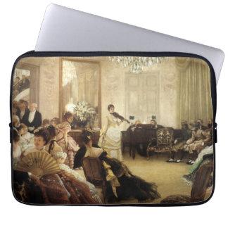 Stille, das Konzert durch James Tissot-schöne Laptop Computer Schutzhüllen