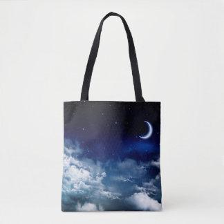 Stille Nacht ganz vorbei - drucken Sie Tasche