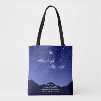 Stille Nacht, heilige NachtTaschen-Tasche Tasche