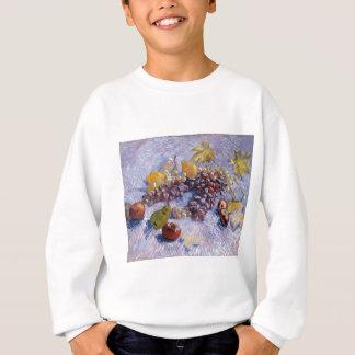 Stillleben: Äpfel, Birnen, Trauben - Van Gogh Sweatshirt